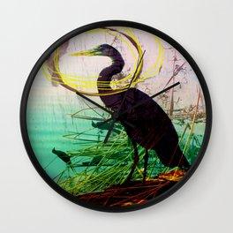 The crane series Wall Clock