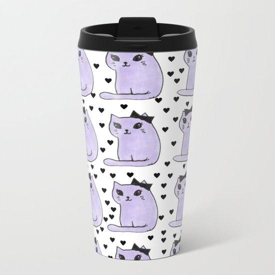 cats-48 Metal Travel Mug