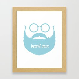 beardman Framed Art Print