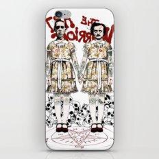 Evil Twins iPhone & iPod Skin