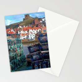 Whitby Harbour Life  Stationery Cards