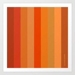 - Los naranjas de Rothko Art Print