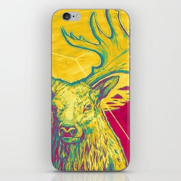 Stag Dimension of Yellow iPhone Skin