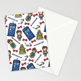 Time Lords Stationery Cards