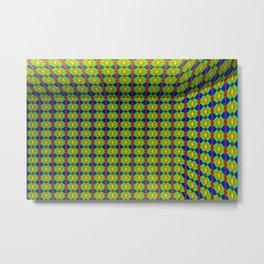 Colored pattern room Metal Print