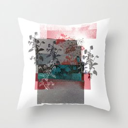 Anemony Throw Pillow