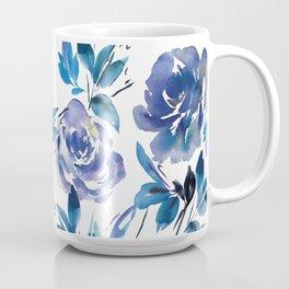 Royal Blue Garden 01 Coffee Mug