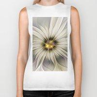 blossom Biker Tanks featuring Blossom by gabiw Art