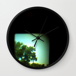 The Space Between Lenses Wall Clock