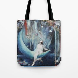 Secrets For The Moon Tote Bag