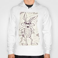 coyote Hoodies featuring Coyote by Dmarmol