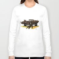 mad max Long Sleeve T-shirts featuring MAD MAX by Gregory Casares