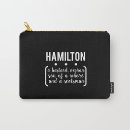 a.ham // black Carry-All Pouch