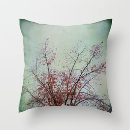Nature has arms for those who need a hug Throw Pillow