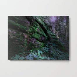 Enchanted Forest Wall (Where the Fairies Dwell) Metal Print
