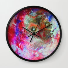 Abstract Owl Wall Clock