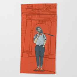 Capturing the Zeitgeist Beach Towel