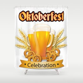 oktoberfest - milwaukee oktoberfest 2018 Shower Curtain