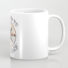 Adventure This Way Coffee Mug