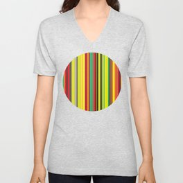 Lineal Color Unisex V-Neck