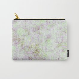 Grunge faded green Carry-All Pouch