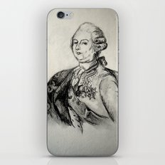 French Sketch III iPhone & iPod Skin