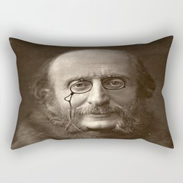 Portrait of Offenbach by Nadar Rectangular Pillow