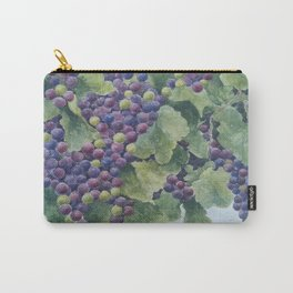 Napa Valley Grapes Carry-All Pouch