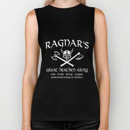 RAGNAR Sleeveless  to Viking Valhalla  viking Biker Tank