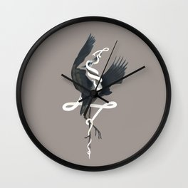 Anxiety (White Variant) Wall Clock