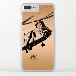 Copper Chinook Clear iPhone Case