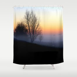 Failing Light Shower Curtain