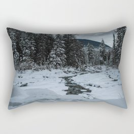 Winter's Grip Rectangular Pillow