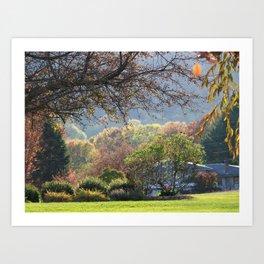 Fall Landscape Art Print