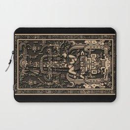 Sala Tumba de Pakal Laptop Sleeve