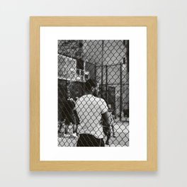 New York Basketball II Framed Art Print