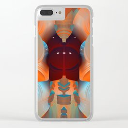 The Devil in the Details Clear iPhone Case