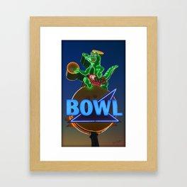GatorBowl Bowling on the Treasure Coast Framed Art Print