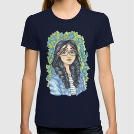 Denim & Blue Florals T-shirt