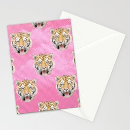 TIGER PINK PATTERN Stationery Cards