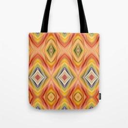 pattern orange Tote Bag