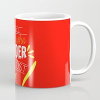 not all those who wander are lost Mugs featuring Not all those who wander are lost by lucaguglielmi