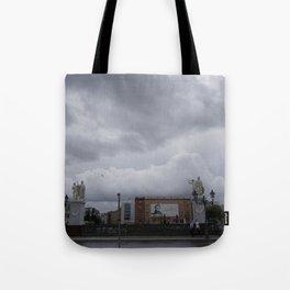 Berlin clouds Tote Bag
