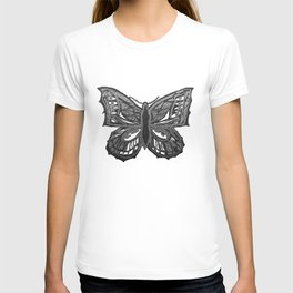 The Beauty in You - Butterfly #2 #drawing #decor #art #society6 T-shirt