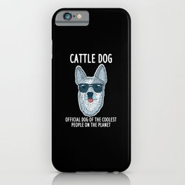 Official Dog Of The Coolest People On The Planet iPhone Case