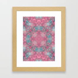 magic mandala 49 #mandala #magic #decor Framed Art Print