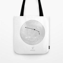 Moon Astrology - Zodiac Aries Tote Bag