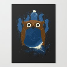 The Earth Owl Canvas Print