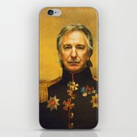 replaceface iPhone & iPod Skins featuring Alan Rickman - replaceface by replaceface