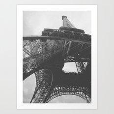 Radio Tower Art Print